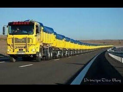 O Caminhão mais Caro do Brasil V Caminhão mais Longo do Mundo
