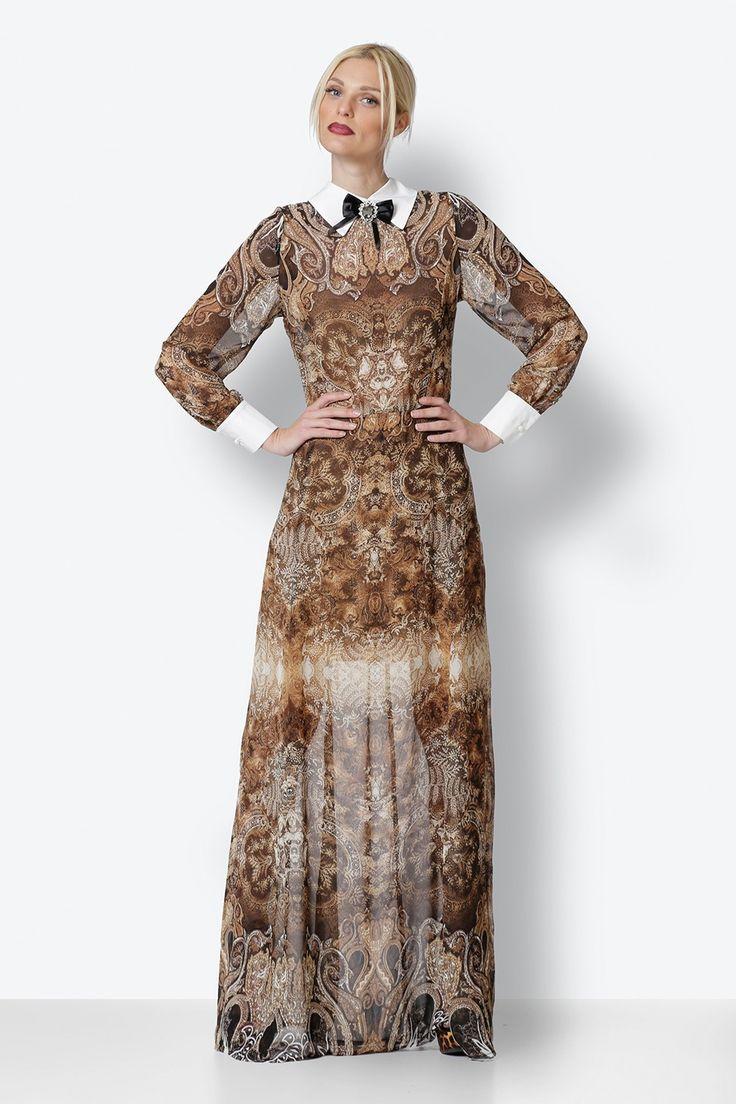 Maxi Dress with Print