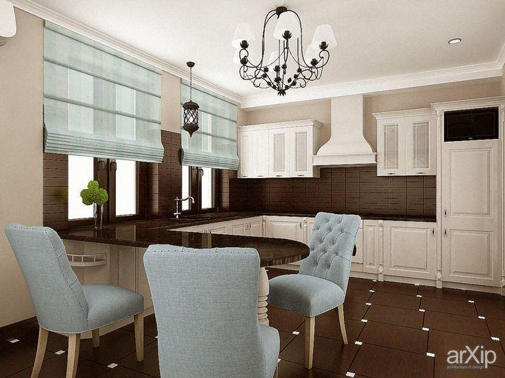 Кухня: интерьер, квартира, дом, кухня, неоклассика, 20 - 30 м2 #interiordesign #apartment #house #kitchen #cuisine #table #cookroom #neoclassicism #20_30m2 arXip.com