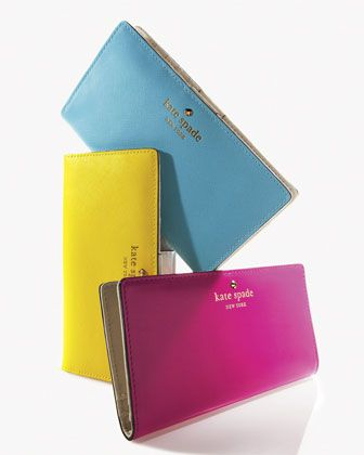 mikas pond stacy continental wallet by kate spade new york at Neiman Marcus.