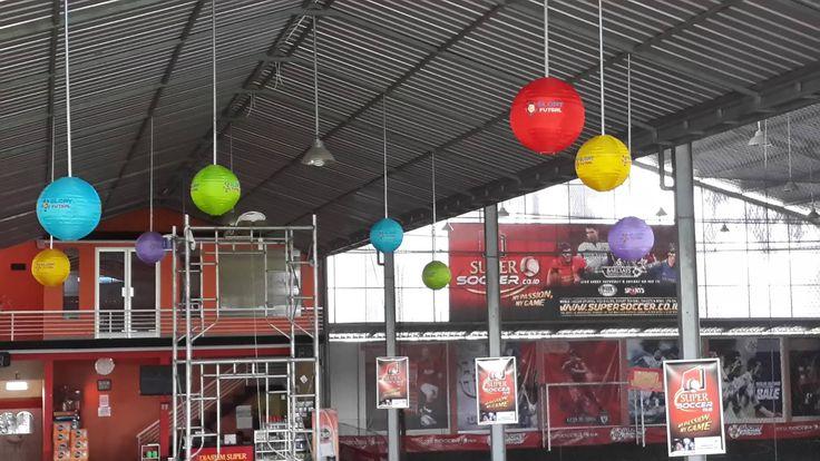 Lampion untuk Area Futsal