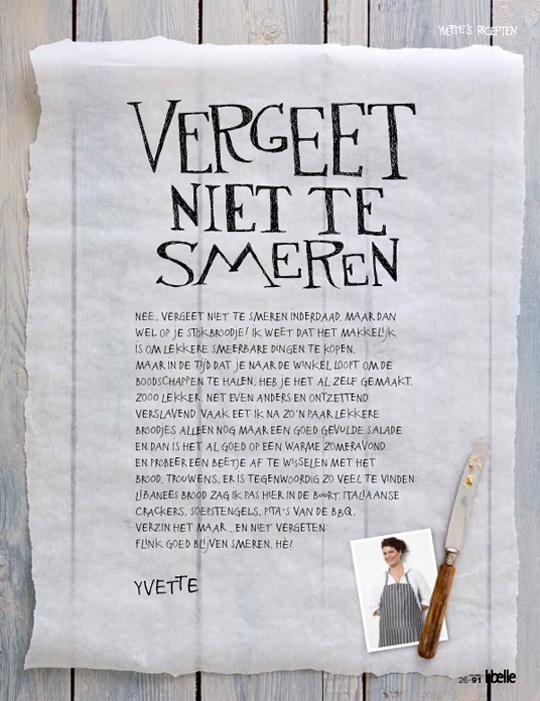 Yvette van Boven voor Libelle