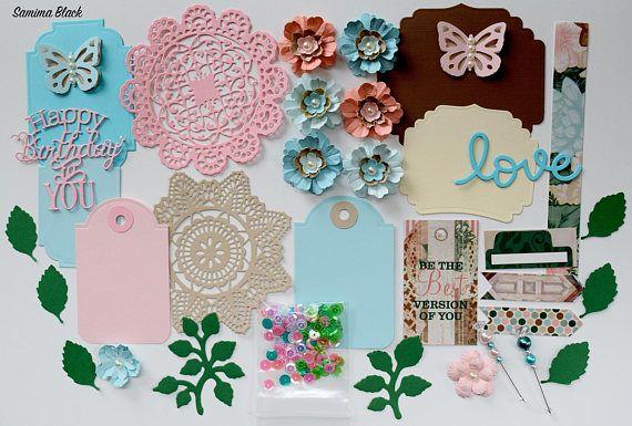 BoBunny Felicity Scrapbook Paper and Embellishment Kit 2
