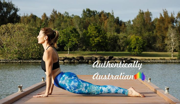 Authentically Australian Flow Yoga & Activewear designed, printed and made in sunny Queensland.