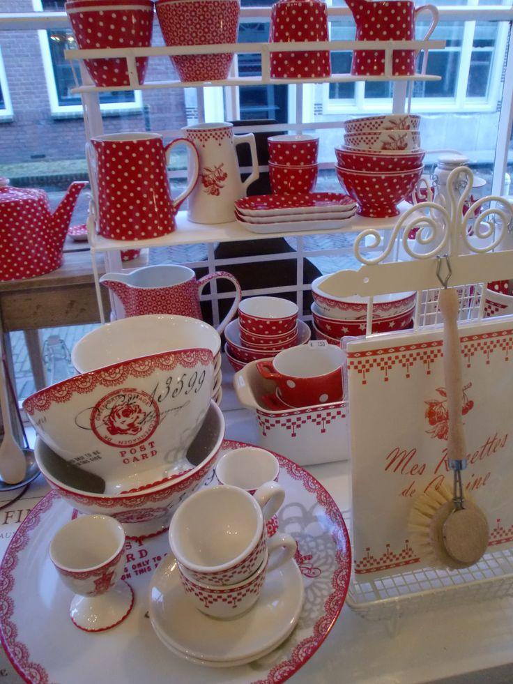 17 best images about servies damier rouge comptoir de - Comptoir de famille online ...