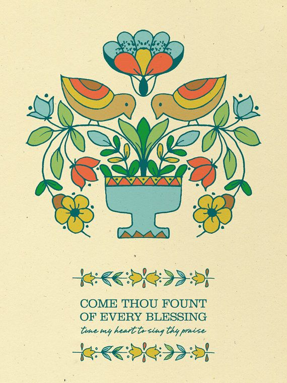 tune my heart to sing Your praise.: Dining Rooms, Blessed Prints, Folk Art, Vintage Prints, Large House, My Heart, Singing Thi, A Frames, Beautiful Artworks