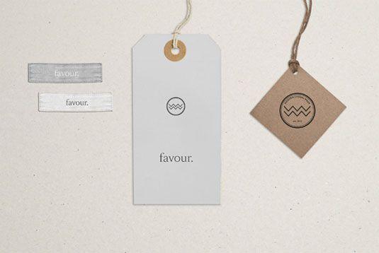fashion label branding