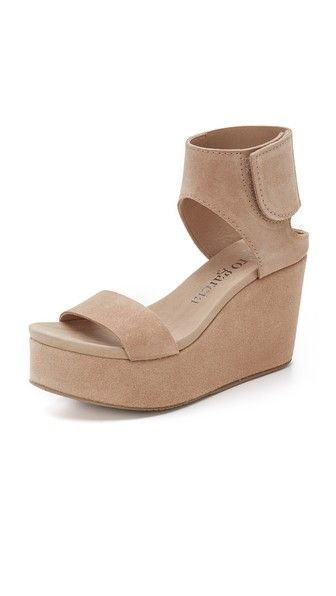 Pedro Garcia Darla Platform Wedge Sandals