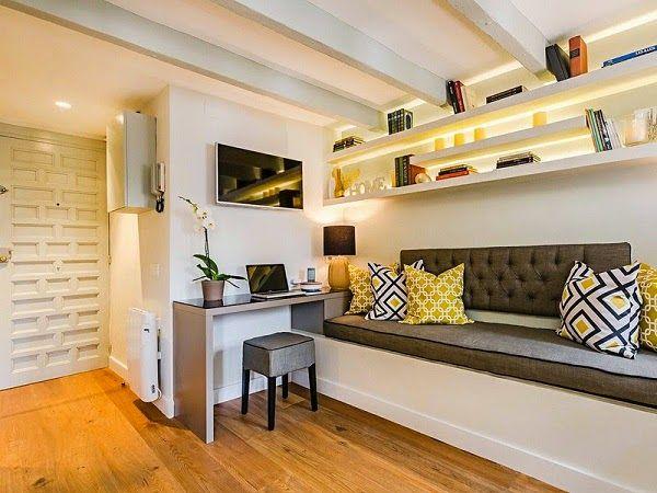 33 best Studio sous comble Déco images on Pinterest Attic spaces - prix d une extension de maison de 20m2