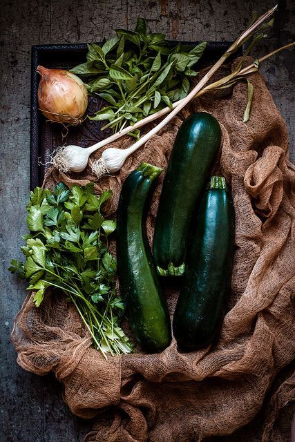zucchini & herbs by carey nershi | reclaiming provincial
