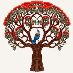 pohutukawa tree drawing - Google Search