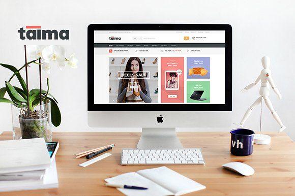 Taima - Woocommerce Theme by Opal Wordpress Theme on @Graphicsauthor