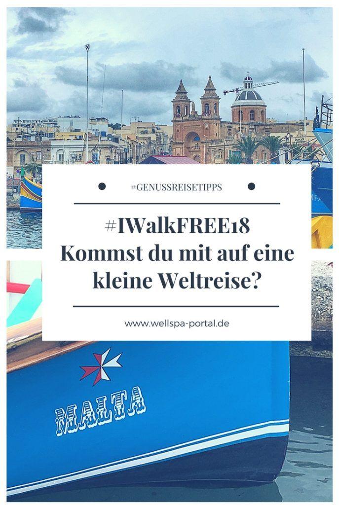 #IWalkFREE18 eine kleine Weltreise auf der Reisemesse München. Reiseblogger unterwegs