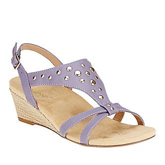 Vionic with Orthaheel Technology Women's Catarina Wedge Sandals :: Casual  Sandals :: Shop now