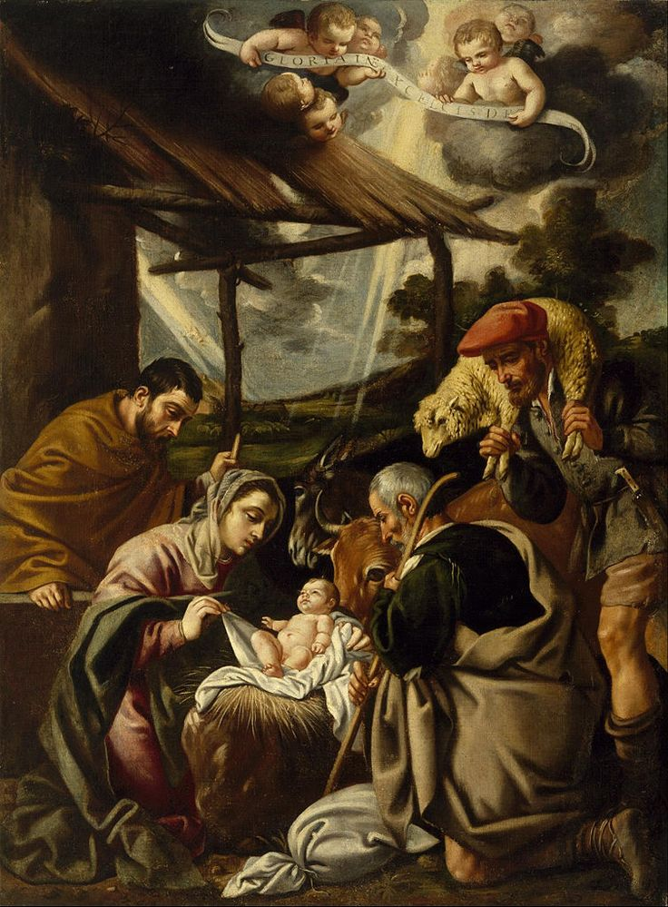 The_Adoration_of_the_Shepherds_-Pedro Orrente, primera mitad del siglo 17