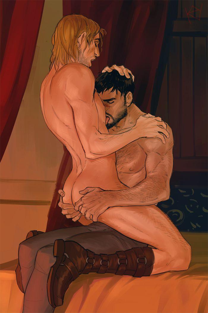 Dragon Age porno gay