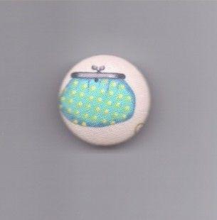 1  BOUTON RECOUVERT DE TISSU ,  ****Réf 615****  : Mercerie par la-boite-aux-boutons sur ALittleMarket