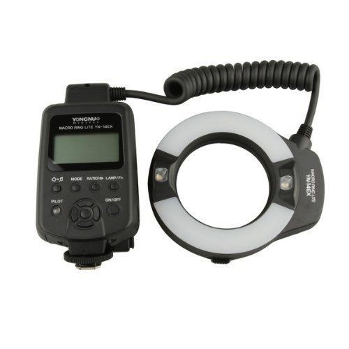 YongNuo YN14EX TTL Macro Ring Lite Flash Light for Canon EOS DLSR Camera * For more information, visit image link-affiliate link.