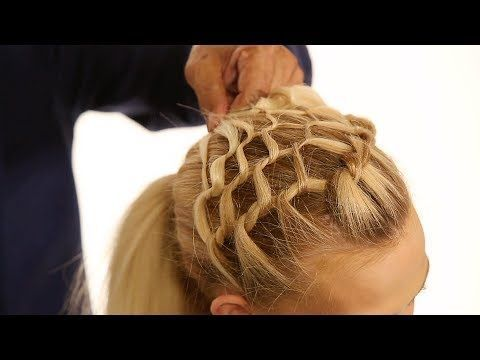 How To Create A Net Braid Fishnet Braid Tutorial Youtube