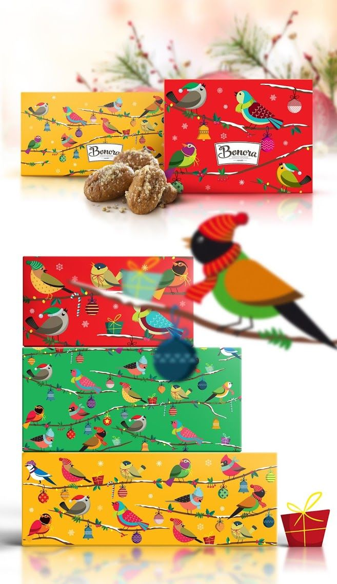 Bonora Chocolates X'mas 2015 on Packaging of the World - Creative Package Design Gallery