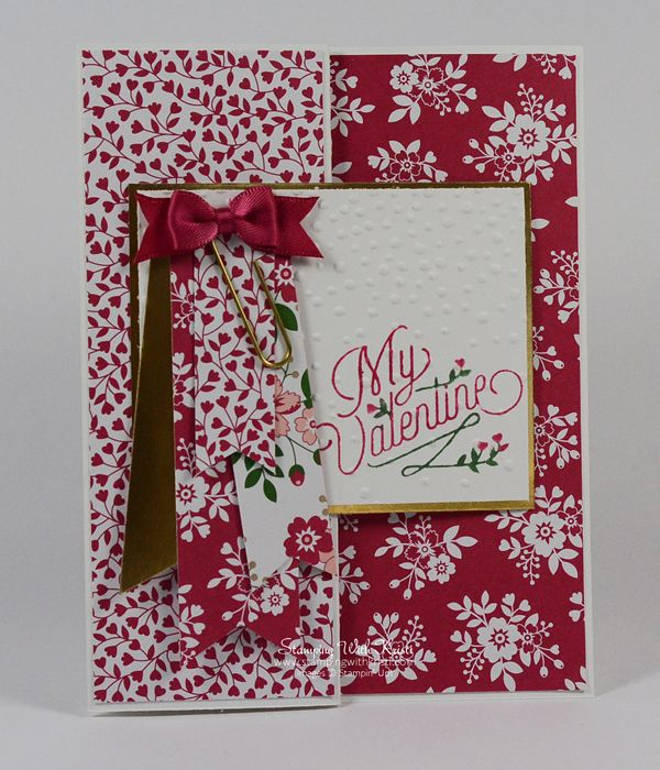 stampin up love blossom card by kristi wwwstampingwithkristicom - Stampin Up Valentine Card Ideas