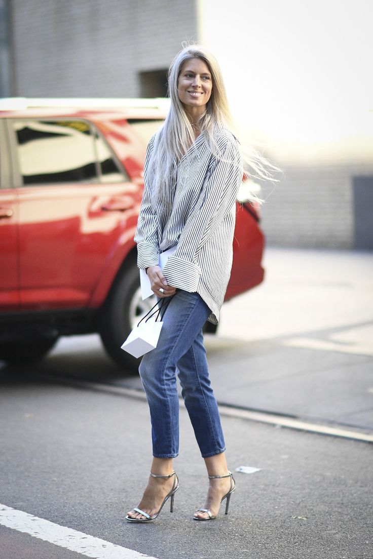 Elevate Your Basics Simply take your favorite wardrobe staples to the next level by swapping in a pair of heels, polished outerwear, or a chic bag.