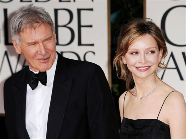 The Fugitive actor Harrison Ford, 69, who is happily married to his much younger third wife, Brothers & Sisters actress Calista Flockhart, 47. Clearly 22 years means nothing when you're madly in love!
