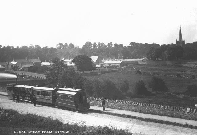 Lucan old steam train 1883