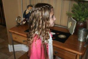 :)French Braids, Braids Hairstyles, Braid Hairstyles, Girls Hairstyles, Baby Girls, Hair Style, Spirals Curls, Waterfall Braids, Flower Girls