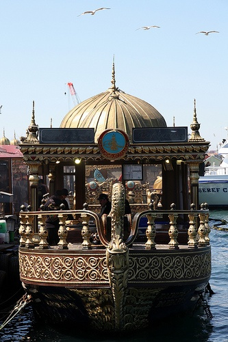 Ship Restaurant at Eminönü, Istanbul, Turkey
