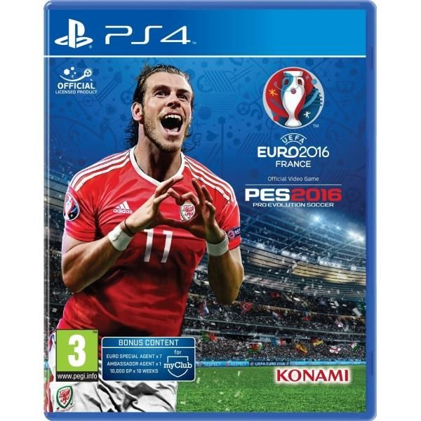 Uefa Euro 2016 Pro Evolution Soccer PS4 Game | http://gamesactions.com shares #new #latest #videogames #games for #pc #psp #ps3 #wii #xbox #nintendo #3ds
