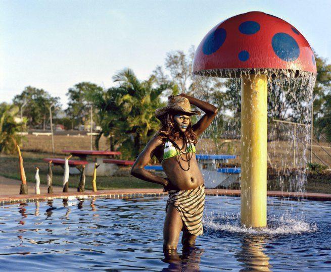 Bindi Cole (VIC b.1975) Wathaurung people 'Frederina' 2009
