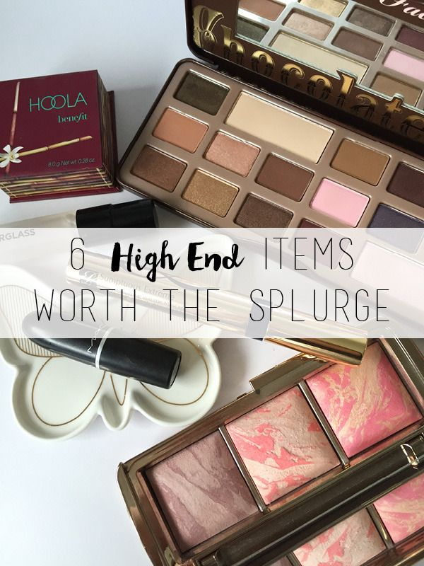 Six High End Makeup Products Worth the Splurge // Maddie's Beauty Spot