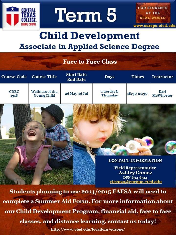 Central texas college term 5 child development