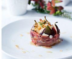 Recept: Vijgen met geitenkaas en spek   Gezond Eten Magazine