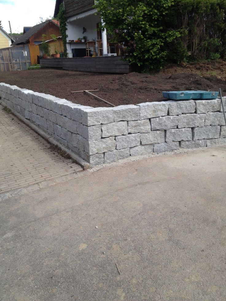 25+ parasta ideaa pinterestissä: granit palisaden   palisaden holz, Garten und erstellen