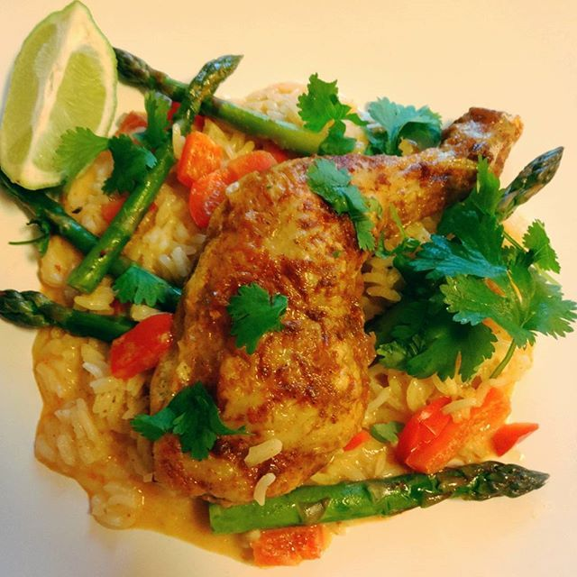 Edel's Mat & Vin : ONE POT Spicy Coconut Kyllinggryte