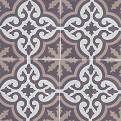 Ulfven Nattfiol    Ulfven Nattfiol gir et dust inntrykk med gammelrosa bakgrunn og lilla mønster.