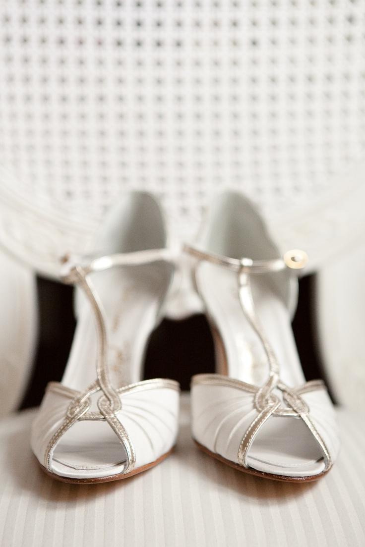 Vintage Wedding Shoes Wedding Bells Pinterest