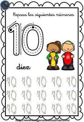 Completo cuaderno para repasar el trazo, números del 1 al 30 - Imagenes Educativas