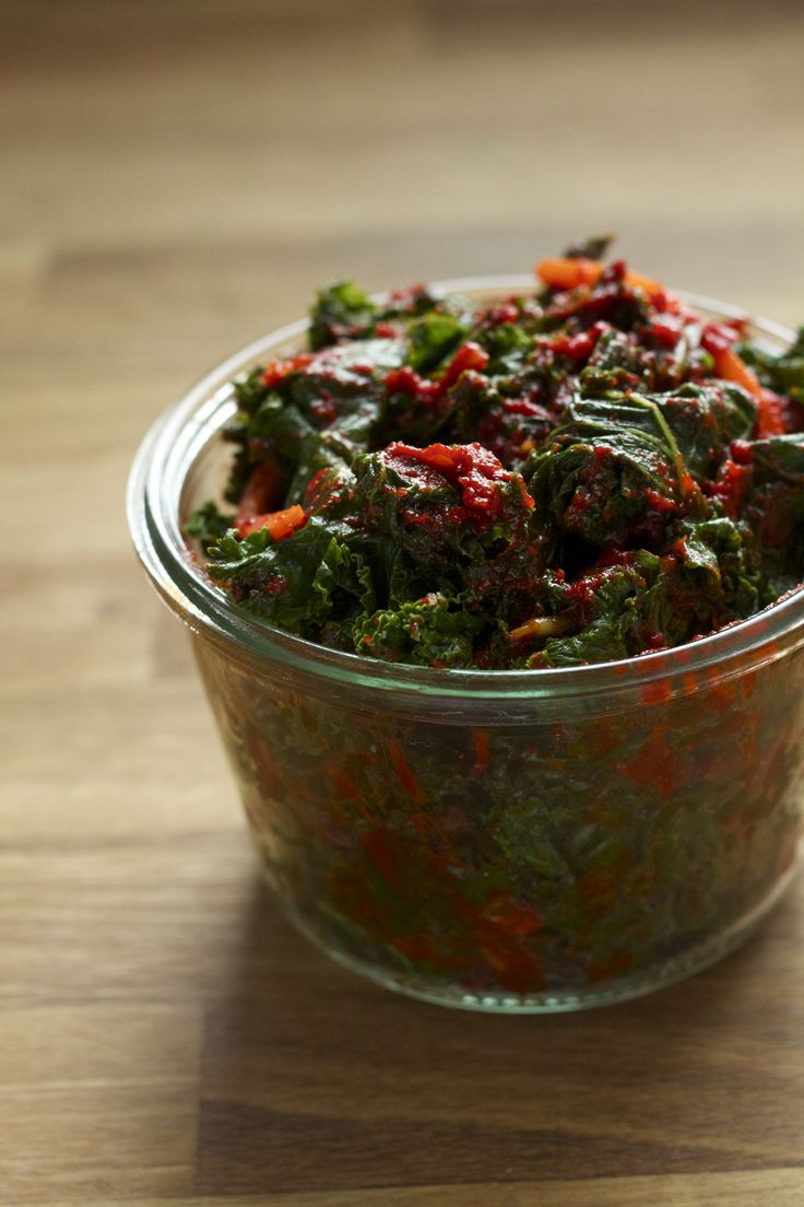 Bring fermented foods home with a recipe for kale kimchi