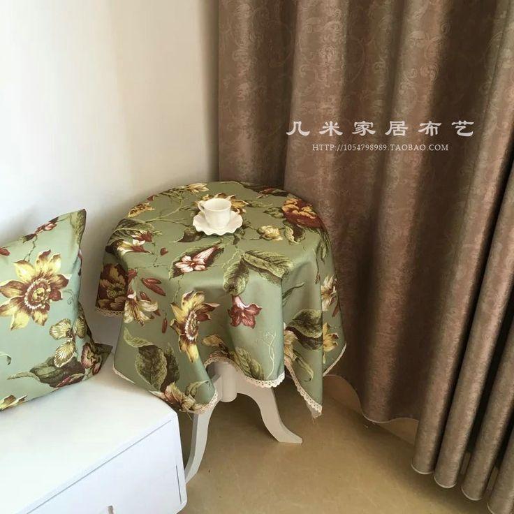 Толстый хлопок холст диван крышка ткань скатерть занавес ткань тонкой льняной скатерти полиэстер ткань клиренс-Таобао глобальной вокзала