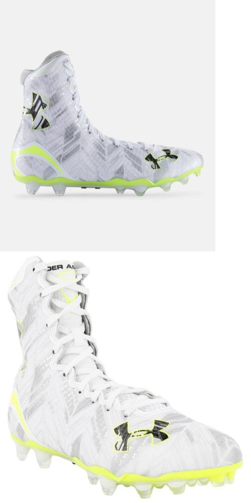 Footwear 159154: Under Armour Highlight Mc Lacrosse High Top Cleats Men S Shoes Msrp $130 New -> BUY IT NOW ONLY: $88.88 on eBay!