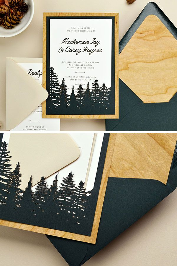 Pin On Diy Wedding Invitation Inspiration And Ideas