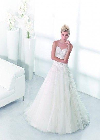 Abiti da sposa Carlo Pignatelli 2014 - Vestito da sposa con cristalli
