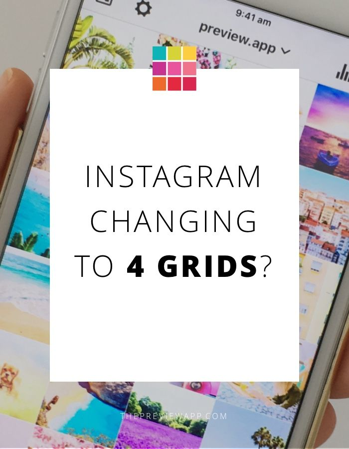 4 grids on Instagram? Why? How is it going to look like? Will it really mess your feed? FORECAST & DESIGN TIPS.