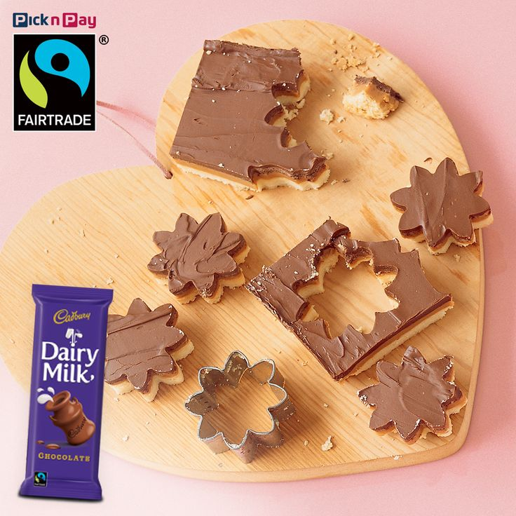 Top treat for the indulgent! Eat like royalty on millionaire's shortbread with an extra-thick layer of Fairtrade Label South Africa chocolate (to keep that goopy caramel goodness in its place!) We ‪#‎FairtradeChallenge‬ you to make this recipe this week. #dailydish #picknpay #freshliving
