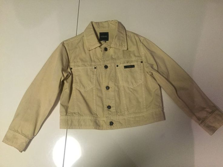 70d40d0ce8 Gianfranco Ferre Jacket For Boys Kids Beige Color Size Small 4-5 For Spring