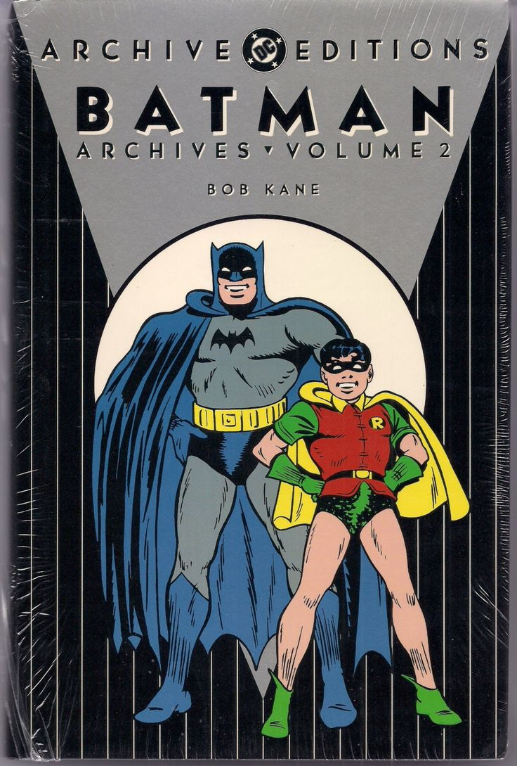Batman the Dark Knight DETECTIVE COMICS Gotham City DC Archive Editions #2 1st Printing Bob Kane Reprinting issues 51-70 Penguin Two-Face