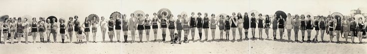 miss-panoramique-Balboa-Beach-Bathing-Beauty-Parade-1925 - La boite verte